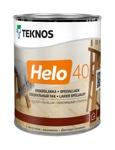 Teknos HELO 40 Semiglossy полуглянцевый алкидно-уретановый универсальный лак, 0,9л Финляндия