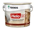 Teknos HELO 90 Glossy глянцевый алкидно-уретановый универсальный лак, 2,7л Финляндия