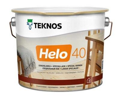 Teknos HELO 15 Matt  алкидно-уретановый универсальный лак, 2,7л Финляндия