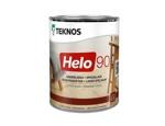 Teknos HELO 90 Glossy глянцевый алкидно-уретановый универсальный лак, 0,9л Финляндия