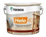 Лак алкидно-уретановый Teknos HELO 40 Semiglossy полуглянцевый универсальный, 9л Финляндия